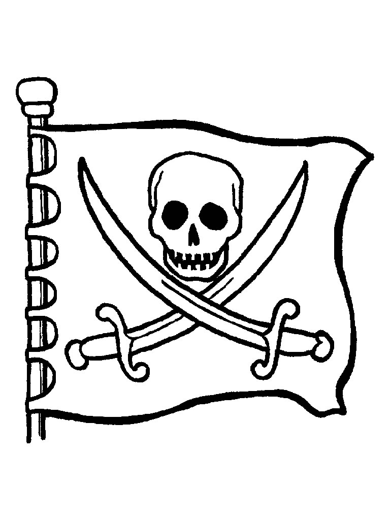 Coloriages de pirates pirates de thiers - Dessins pirates ...